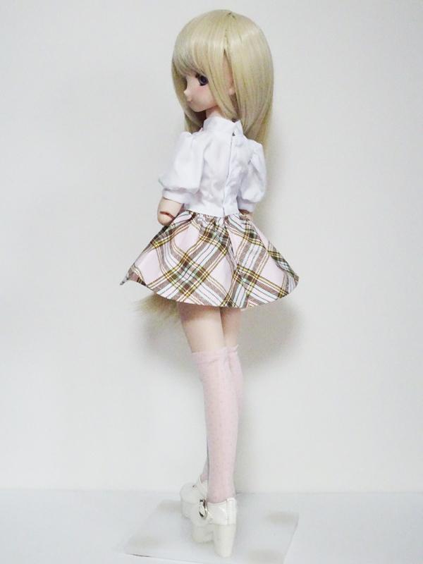 【単品】MDD ニーソックス(ピンクドット/16.5cm)