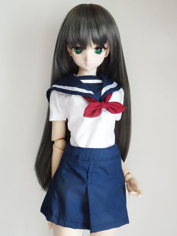 DDS/DD(S.M)/スマートドール(S)/AZO2(G)  名古屋襟セーラー服・半袖(紺襟)