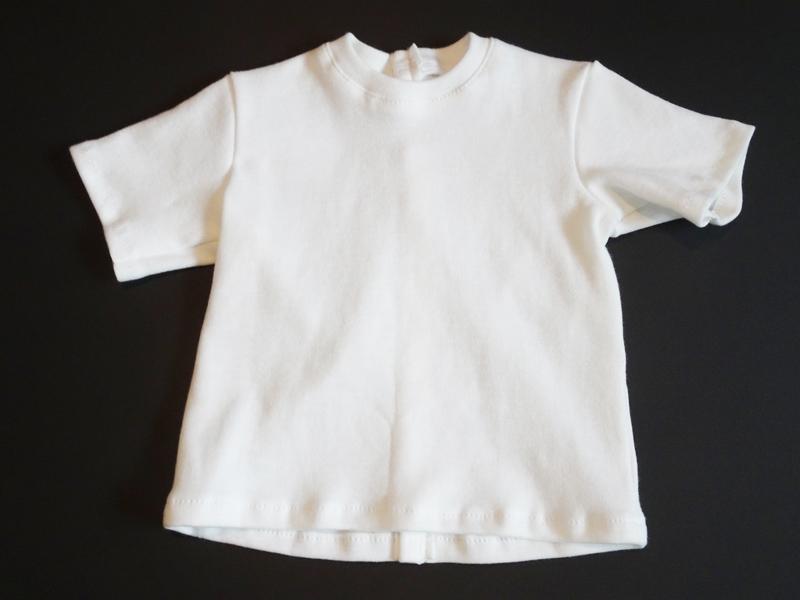 【単品】60cmフリーサイズ ボーイフレンドTシャツ(白)