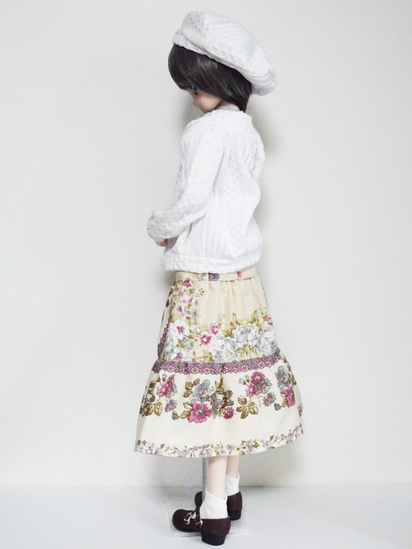 【単品】MDD/DDP ボレロカーディガン(ブロッサムピンク)