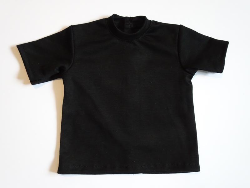 【単品】60cmフリーサイズ ボーイフレンドTシャツ(黒)