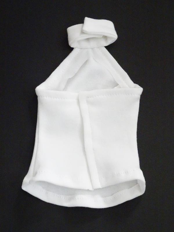 【単品】オビツ50(L)/AZO2(G)/DD(S.M) ホルターネックTシャツ(白)