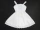 【単品】オビツ50/DDP リボン&レースジャンバースカート(白/白フラワーレース)