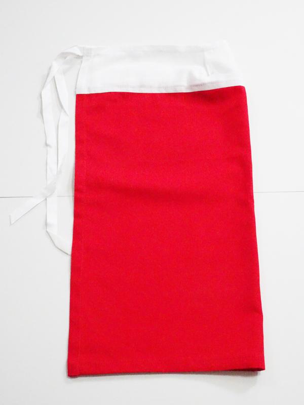【単品】60cmフリーサイズ 腰巻(赤)