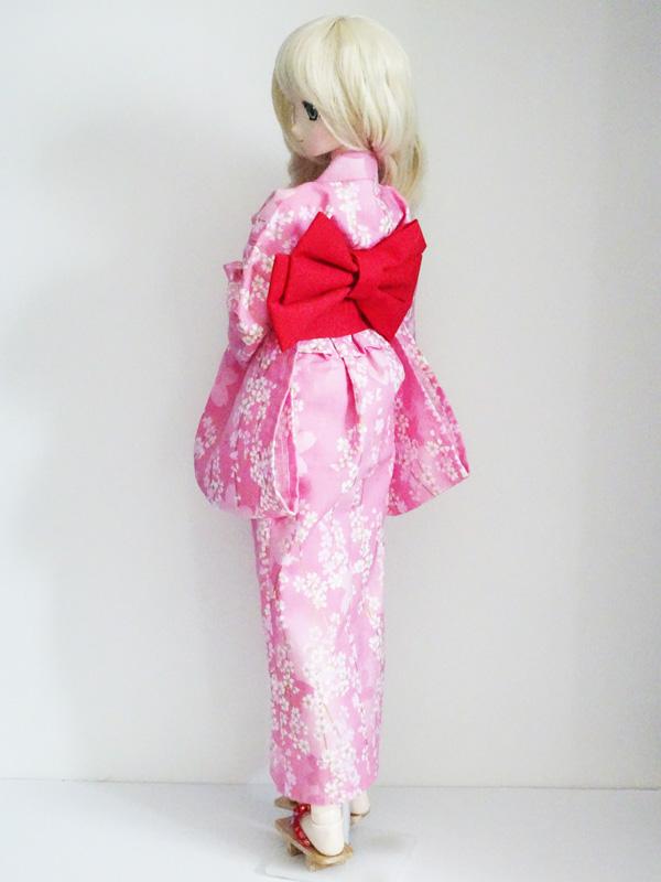 【単品】オビツ50/AZO2 浴衣帯(赤)