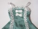 【単品】オビツ50/DDP リボン&レースジャンバースカート(ミント/白レースリボン)