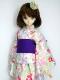 【単品】DDS/DD/DDdy/スマートドール/SD 浴衣帯(紫)