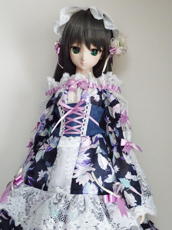 ≪FOR YOU COLLECTION≫DD night-flower dress