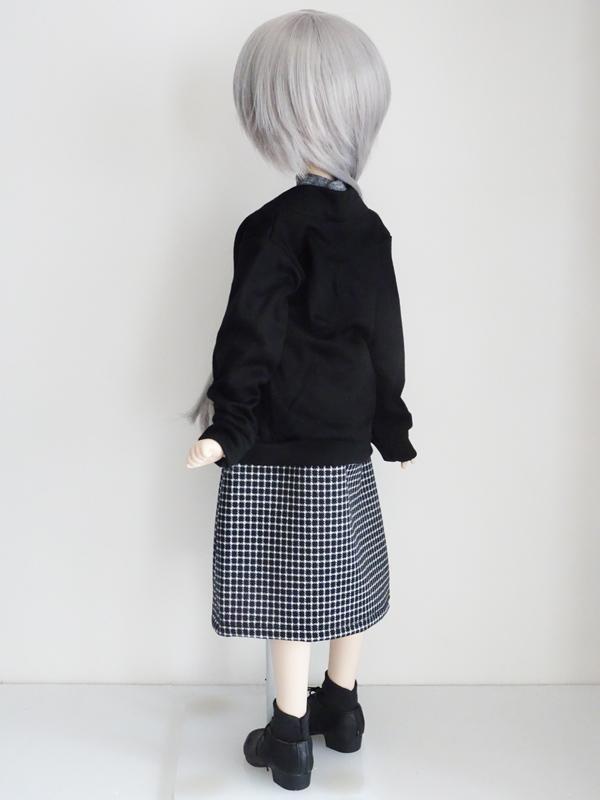 【単品】MDD/DDP ボレロカーディガン(黒)
