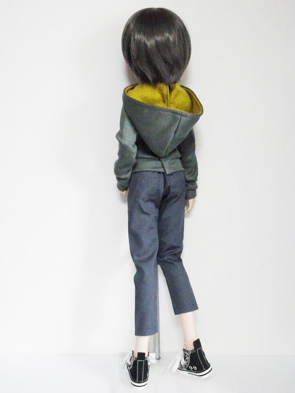 【単品】オビツ50/AZO2(G) パーカートレーナー(モカ)