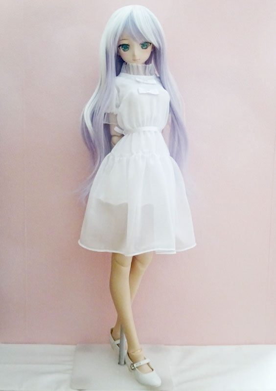 ≪FOR YOU COLLECTION≫DDS/DD トランスペアレンシーワンピース(ホワイト)
