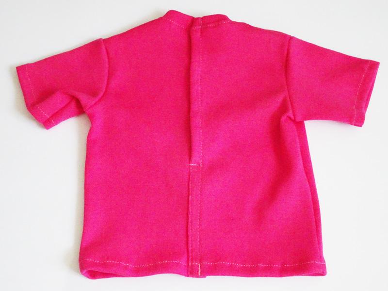 【単品】60cmフリーサイズ ボーイフレンドTシャツ(ショッキングピンク)