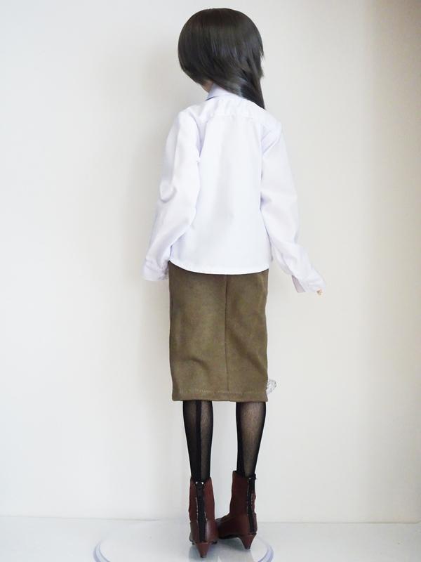 【単品】DD/DDdy/スマートドール ボーイフレンドシャツ(白)