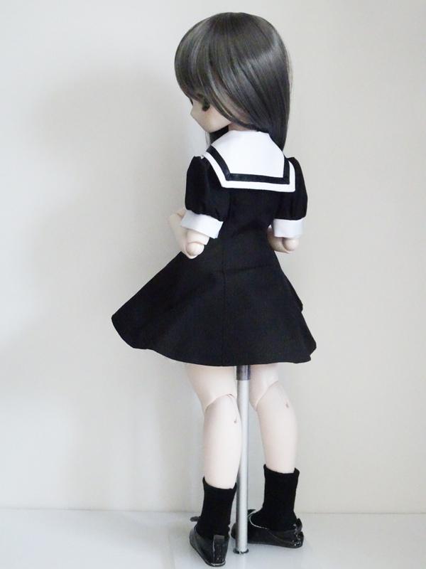 MDD/DDP セーラーワンピース(黒)