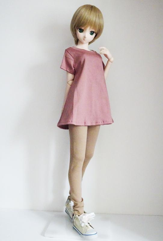 【単品】40〜60cmフリーサイズ テントラインTシャツ(アーモンド)