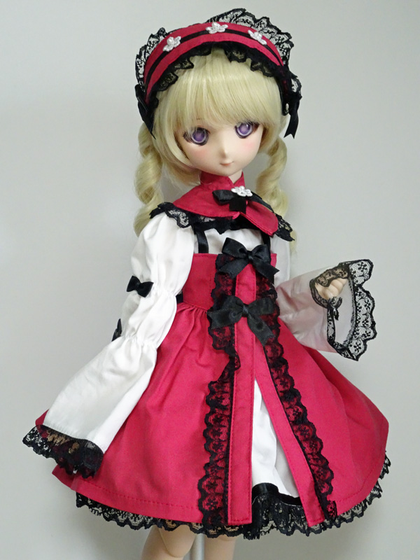 ≪FOR YOU COLLECTION≫MDD/DDP MIMI-Lolita roze x black