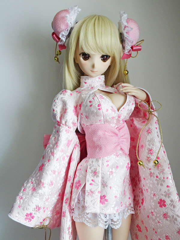 ≪FOR YOU COLLECTION≫DD(L) セクシー着物チャイナ(茜八重)
