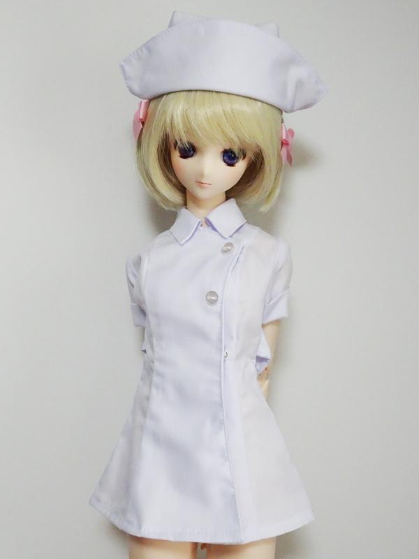 オビツ50/AZO2(G) ナース服(白)
