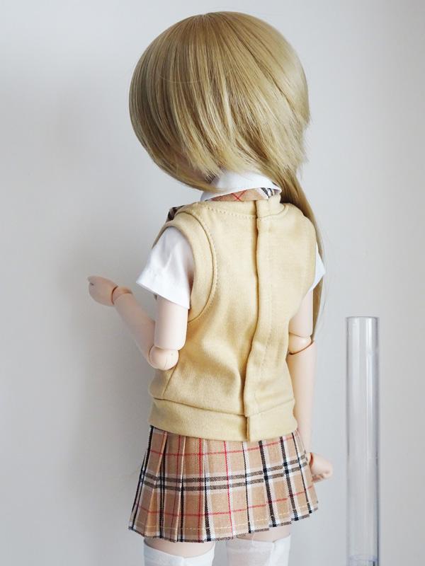 DDP/MDD ベストスクールセット(紺カーディガン/グレースカート)