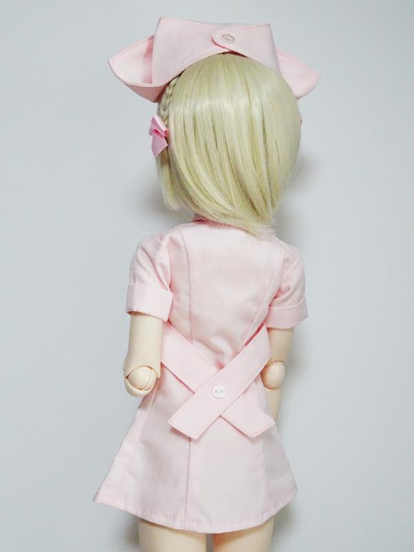 オビツ50/AZO2(G) ナース服(ピンク)