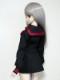 DDS/DD(M.L) セーラー服(冬服/黒/赤ライン)