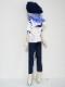 【単品】MDD/DDP/オビツ50 バックポケットパンツ(紺)