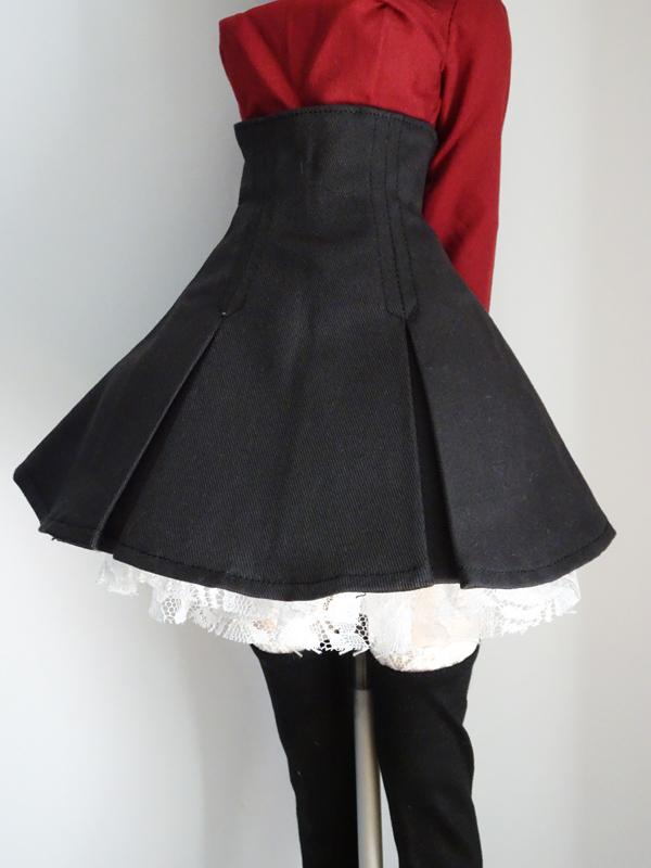 【単品】DDS/DD/DDdy/スマートドール ハイウエストスカートにちょういどいいボリュームペチコート(ピンク)