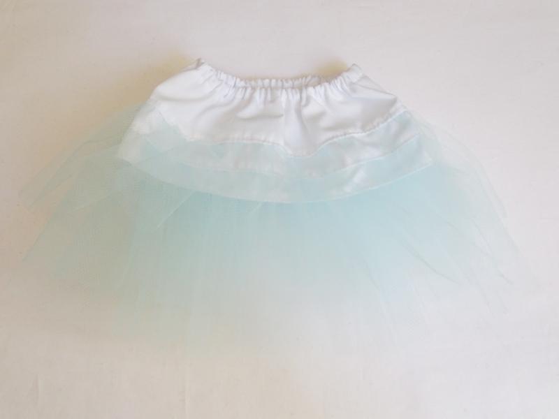 【単品】DDS/DD/DDdy/スマートドール ハイウエストスカートにちょういどいいボリュームペチコート(みずいろ)