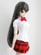 【単品】DDS/DD/DDdy/SD/スマートドール/AZO2 HBプリーツスカート(赤チェック)