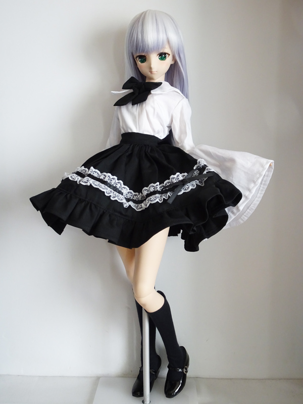 DDS/DD クラウドセーラーゴスロリ(黒スカート/黒リボン)