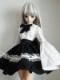 DDS/DD クラウドセーラーゴスロリ(黒スカート/白リボン)