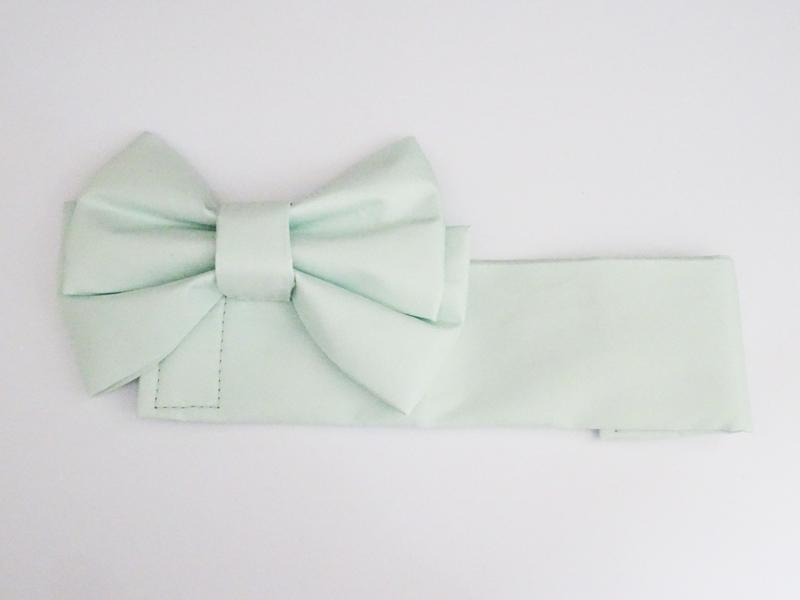 【単品】オビツ50/AZO2 浴衣帯/綿サテン(うぐいす)