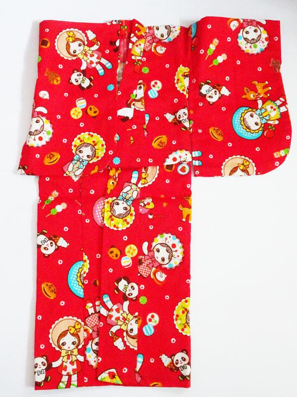 【単品】MDD/PARABOX40 浴衣(文化人形/赤)