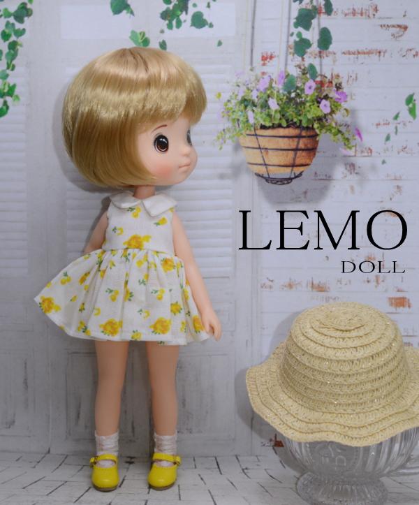 【LOCOMOMO TOY】 Lemo doll ショートヘアレモンキュートサマー1/フルセット