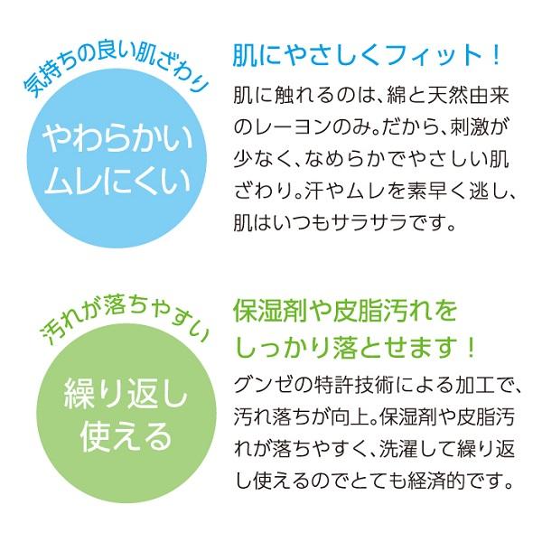 グンゼ メディキュア アーム・レッグカバー (男女兼用)