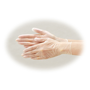 リフレ プラスチック手袋 粉なし 100枚入