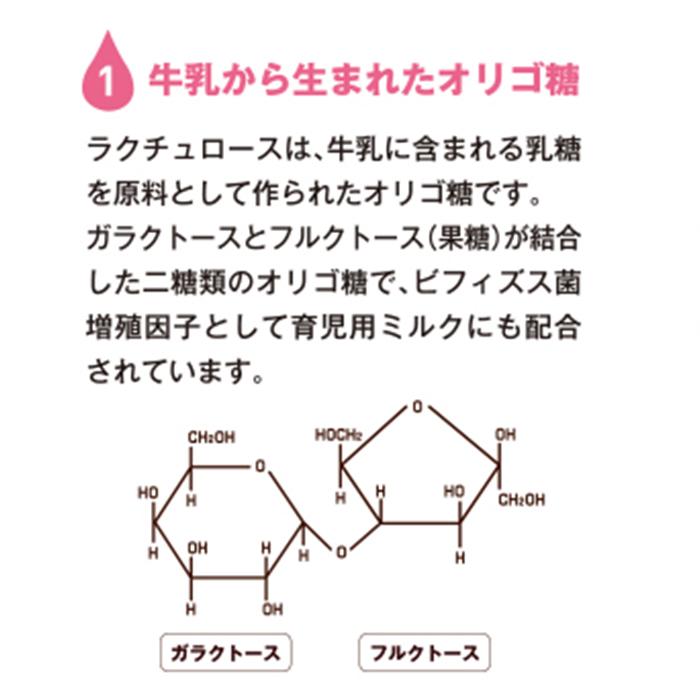 (※)森永 ミルクオリゴ糖ラクチュロースシロップ 500g クリニコ