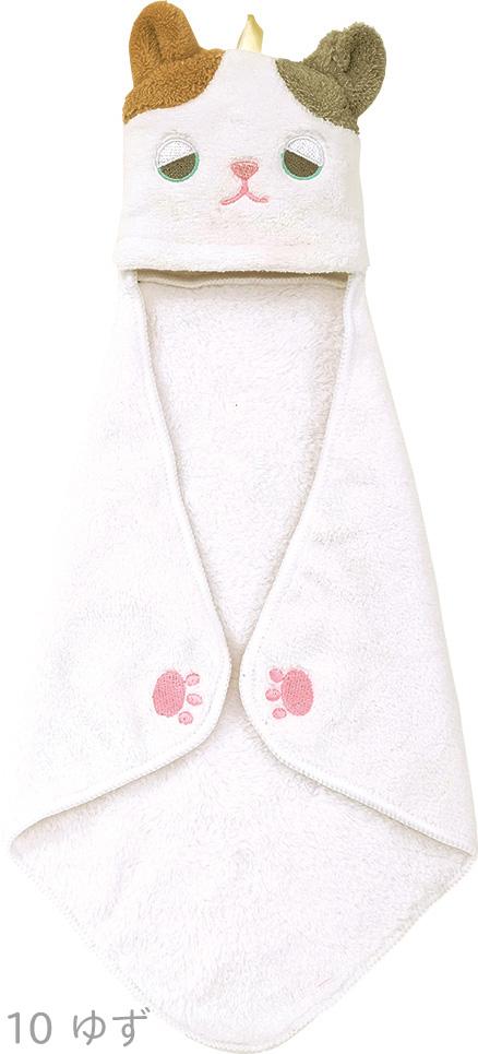 ねむねむアニマルズ 吸水カラッとタオル ポケットタオル