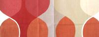 北欧カーテン【送料無料】Boras  Maraga  ボラス マラガ レッド  ・ オーダーカーテンw(幅)184センチ