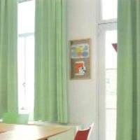【送料無料】【tokyojunf2】丸洗い【エコ・グリーン】セミ・ オーダーカーテン W(幅)280センチ