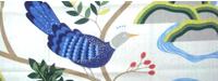 【送料無料】Boras  Birdland  ボラス バードランド ホワイト  オーダーカーテン