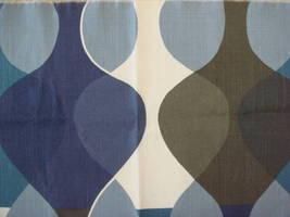 北欧カーテン【送料無料】Boras  Maraga  ボラス マラガ ブルー  ・ オーダーカーテンw(幅)274センチ