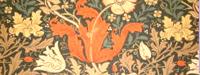 【送料無料】ウイリアムモリス/コンプトン オーダーカーテン w(幅)274センチ