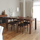 ・【アーティス】ダイニングテーブル 幅180cm ウォールナット 無垢 食卓テーブル
