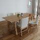 ・【オーベルジュ】ダイニングテーブル 幅140cm オーク 無垢 食卓テーブル