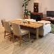 ・【カシス】ダイニングテーブル 幅200cm オーク 無垢 食卓テーブル