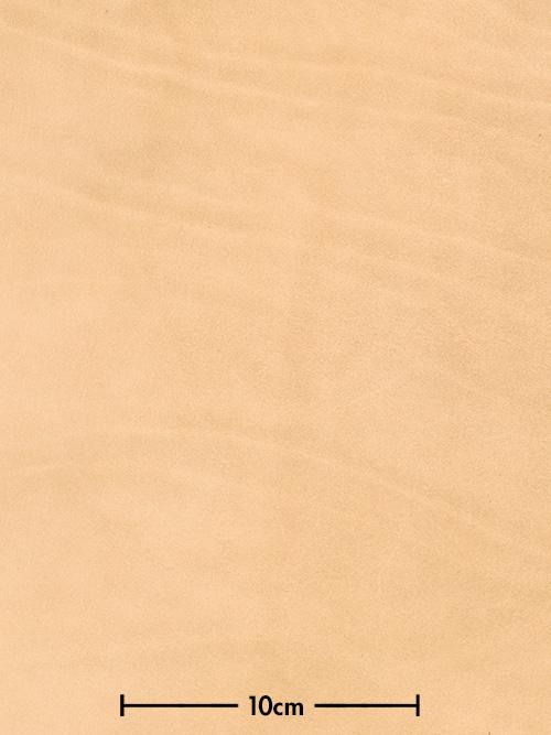 牛ヌメ革【30cm幅】栃木レザー/ストーンポリッシュ/ナチュラル
