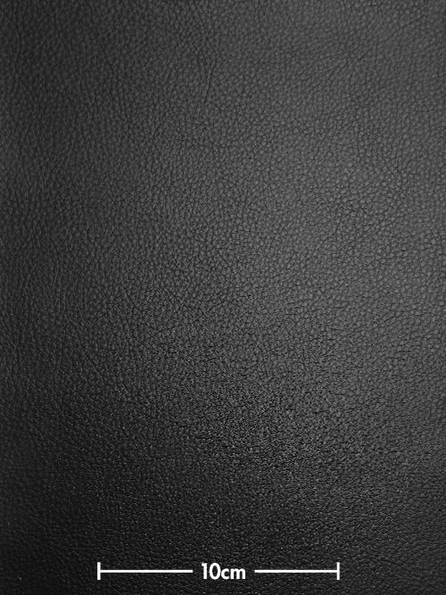 牛ヌメ革【30cm幅】抗菌・防水/エコテックス・シュリンク/ブラック