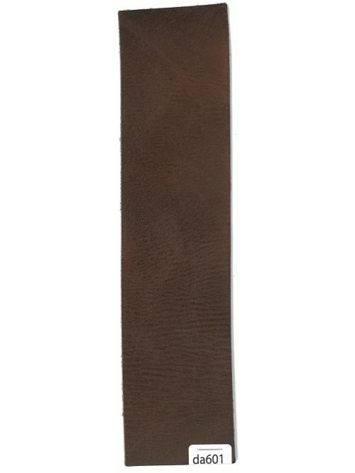 ラクダ革【5×21cm】プルアップ仕上げ/焦茶/1.6mm/Bランク [10%OFF]