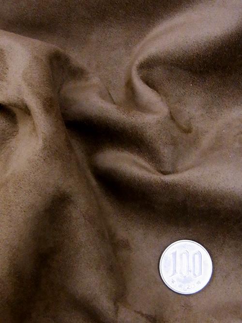 カンガルー革【丸革】銀付スエード/ブラウン/0.5〜1.0mm